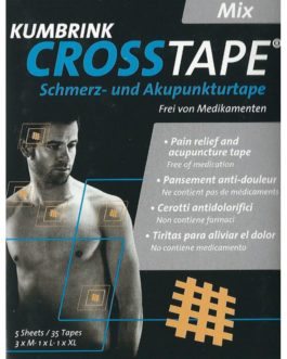 Cross Tape Mix (M, XL, XXL – 35 szt)